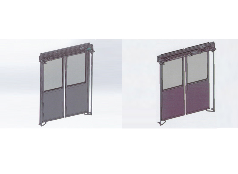 The Introduction of Electrical (Pneumatic) Sliding Plug Door